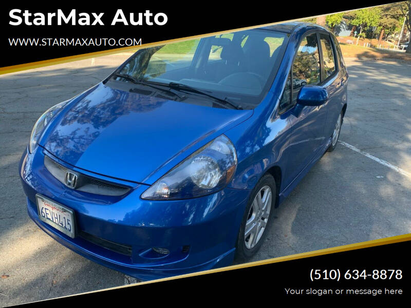 2008 Honda Fit for sale at StarMax Auto in Fremont CA