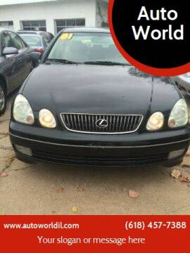 2001 Lexus GS 300 for sale at Auto World in Carbondale IL