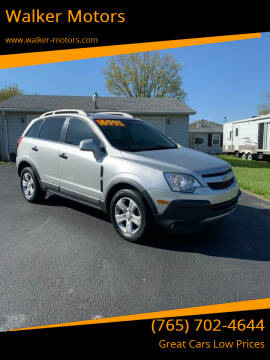 2013 Chevrolet Captiva Sport for sale at Walker Motors in Muncie IN