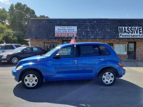 2005 Chrysler PT Cruiser for sale at Kenny's Korner in Hartland MI