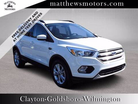 2018 Ford Escape for sale at Auto Finance of Raleigh in Raleigh NC