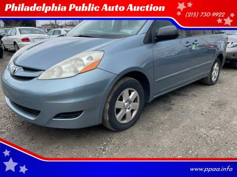 2010 Toyota Sienna for sale at Philadelphia Public Auto Auction in Philadelphia PA