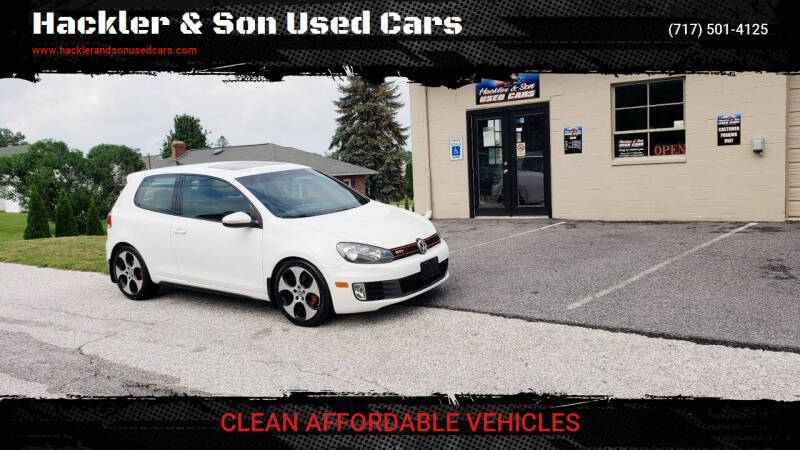 2012 Volkswagen GTI for sale at Hackler & Son Used Cars in Red Lion PA