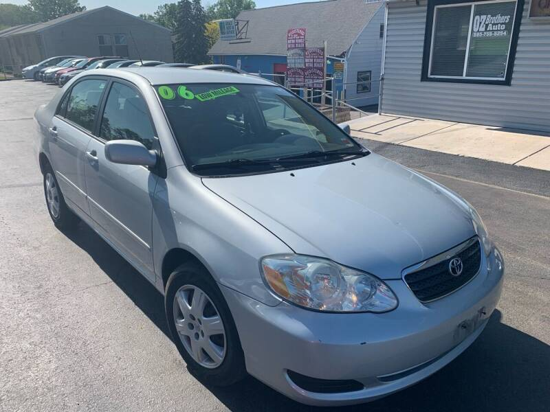 2006 Toyota Corolla for sale at OZ BROTHERS AUTO in Webster NY
