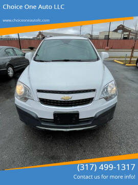 2012 Chevrolet Captiva Sport for sale at Choice One Auto LLC in Beech Grove IN
