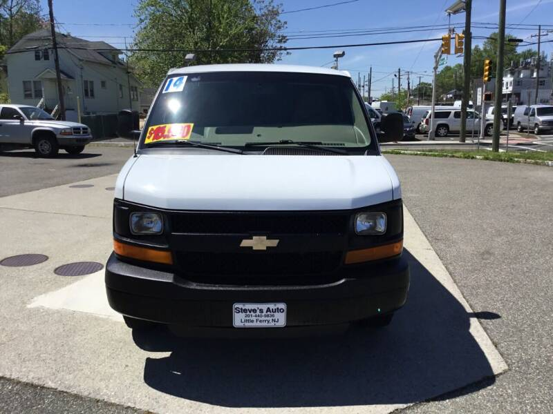 2014 Chevrolet Express Cargo for sale at Steves Auto Sales in Little Ferry NJ