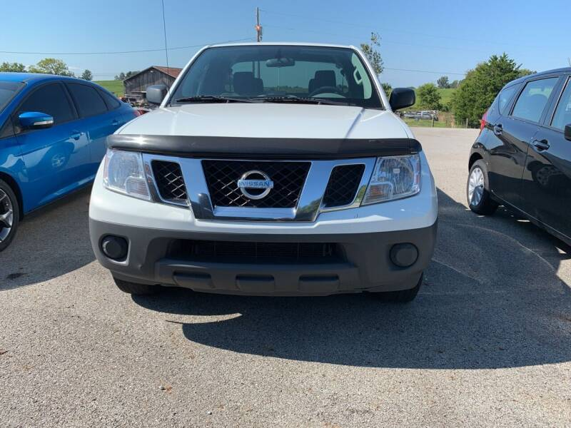 2017 Nissan Frontier for sale at Todd Nolley Auto Sales in Campbellsville KY