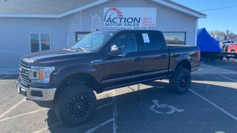 2019 Ford F-150 for sale at Action Motor Sales in Gaylord MI