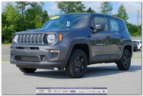 2020 Jeep Renegade for sale at WHITE MOTORS INC in Roanoke Rapids NC
