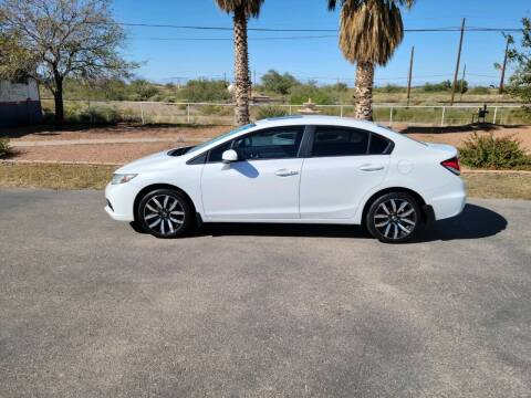 2015 Honda Civic for sale at Ryan Richardson Motor Company in Alamogordo NM