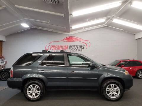 2006 Acura MDX for sale at Premium Motors in Villa Park IL