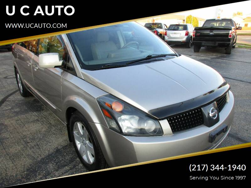 2005 Nissan Quest for sale in Urbana, IL