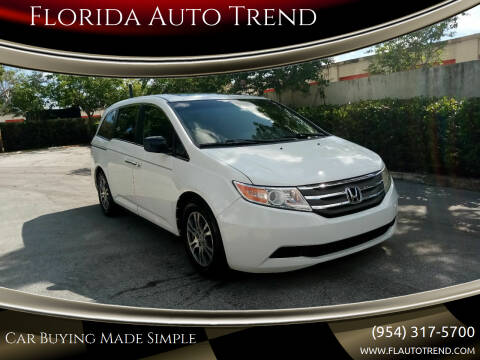 2011 Honda Odyssey for sale at Florida Auto Trend in Plantation FL