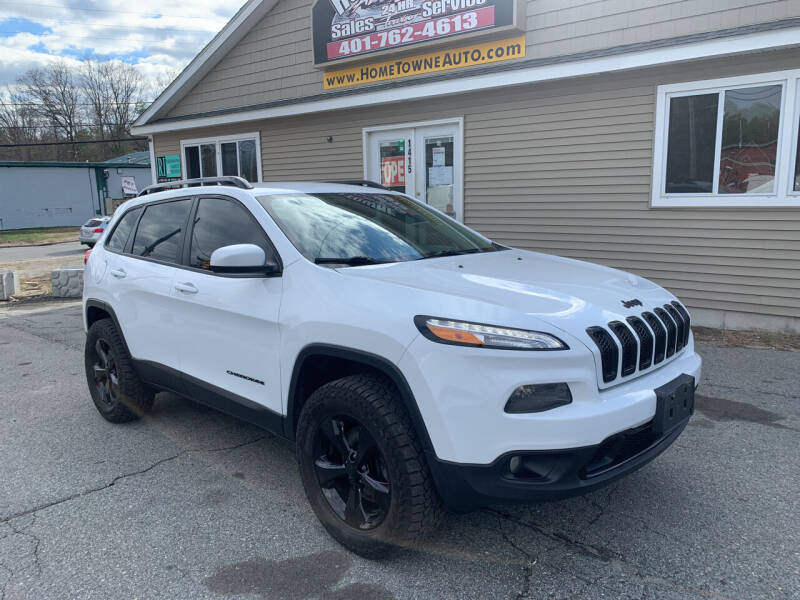 2015 Jeep Cherokee for sale at Home Towne Auto Sales in North Smithfield RI