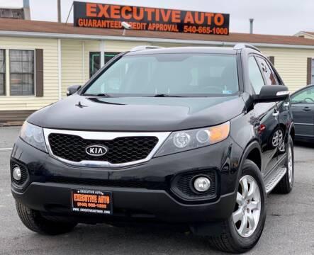 2012 Kia Sorento for sale at Executive Auto in Winchester VA