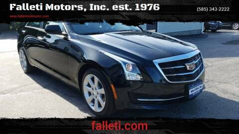 2016 Cadillac ATS for sale at Falleti Motors, Inc.  est. 1976 in Batavia NY