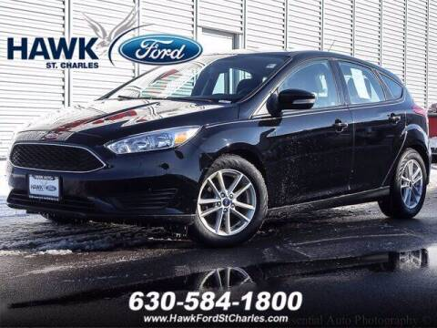 2017 Ford Focus for sale at Hawk Ford of St. Charles in St Charles IL