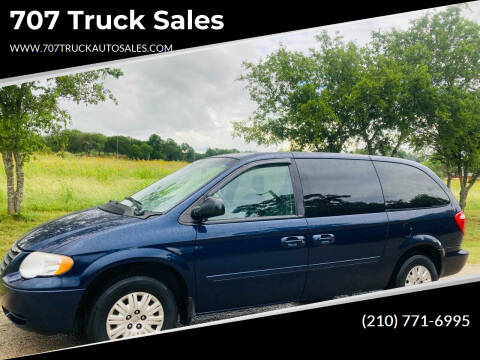 2005 Chrysler Town and Country for sale at 707 Truck Sales in San Antonio TX