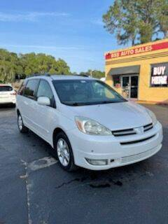 2005 Toyota Sienna for sale at BSS AUTO SALES INC in Eustis FL