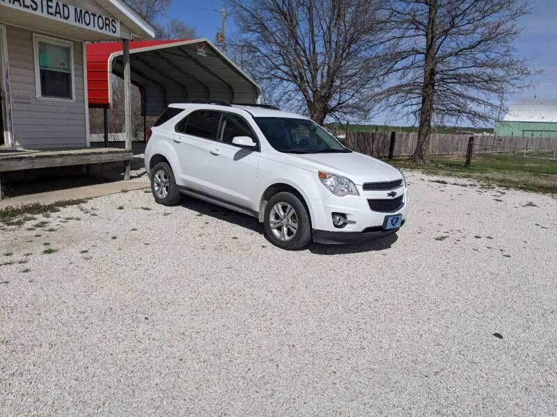2013 Chevrolet Equinox for sale at Halstead Motors LLC in Halstead KS