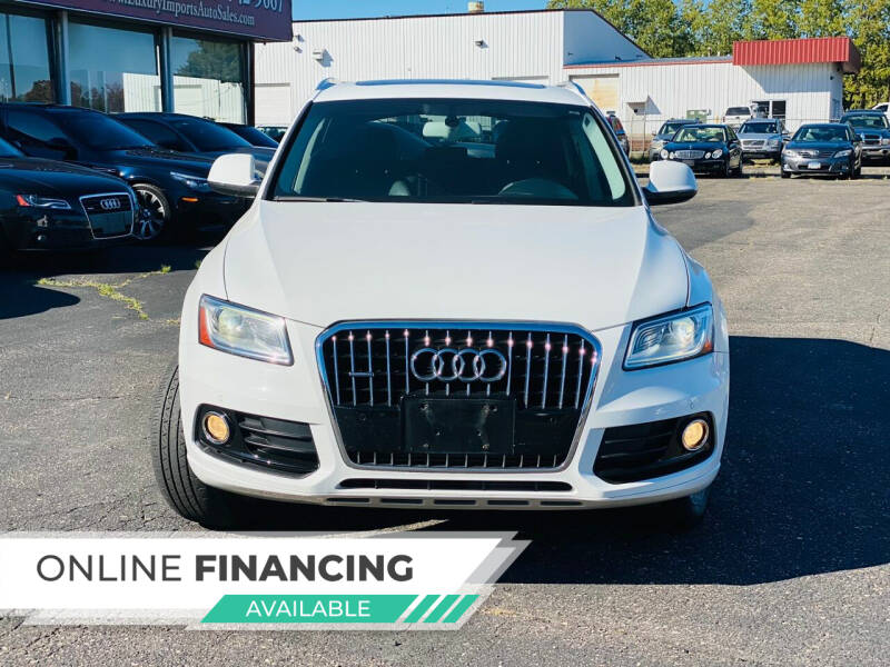 2013 Audi Q5 Hybrid for sale at LUXURY IMPORTS AUTO SALES INC in North Branch MN