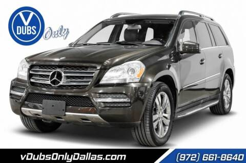 2012 Mercedes-Benz GL-Class for sale at VDUBS ONLY in Dallas TX