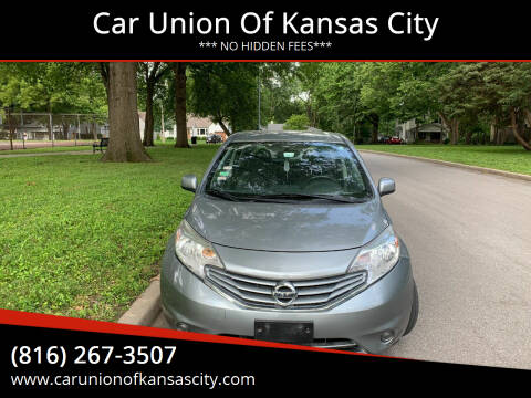 2014 Nissan Versa Note for sale at Car Union Of Kansas City in Kansas City MO
