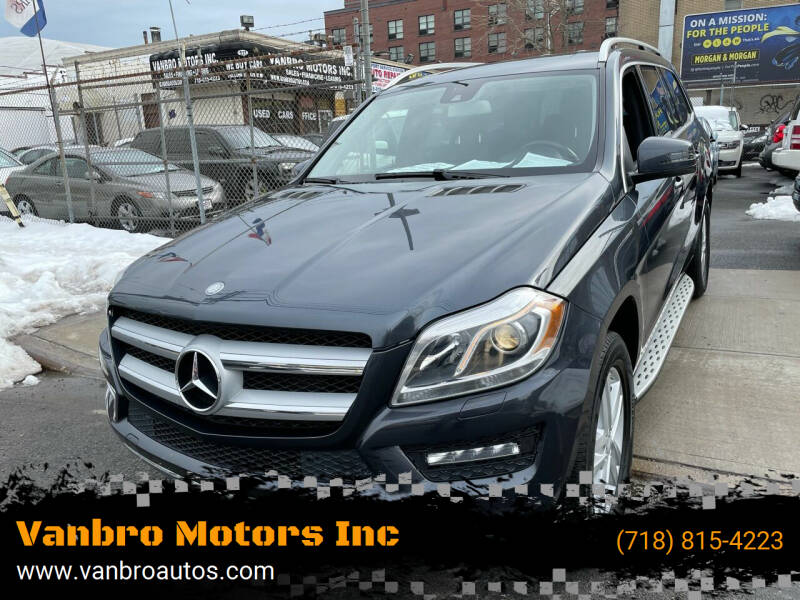 2013 Mercedes-Benz GL-Class for sale at Vanbro Motors Inc in Staten Island NY