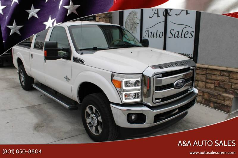2011 Ford F-250 Super Duty for sale at A&A Auto Sales in Orem UT
