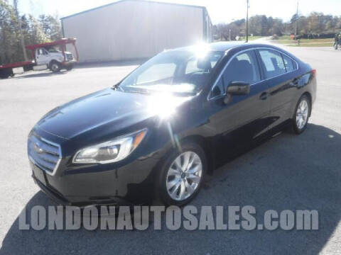 2017 Subaru Legacy for sale at London Auto Sales LLC in London KY