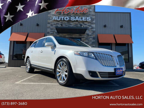 2010 Lincoln MKT for sale at HORTON AUTO SALES, LLC in Linn MO