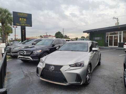 2017 Lexus IS 300 for sale at Empire Car Sales in Miami FL