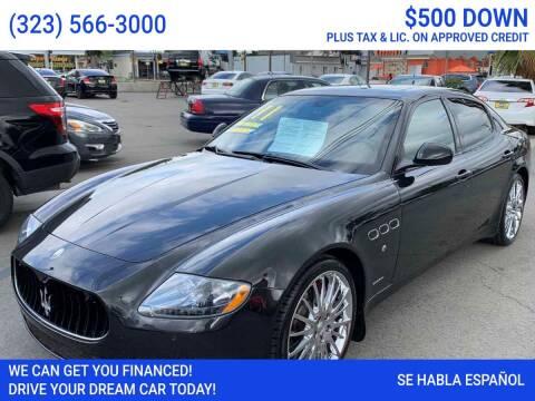 2011 Maserati Quattroporte for sale at Best Car Sales in South Gate CA