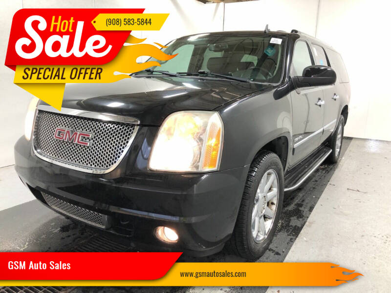 2010 GMC Yukon XL for sale at GSM Auto Sales in Linden NJ