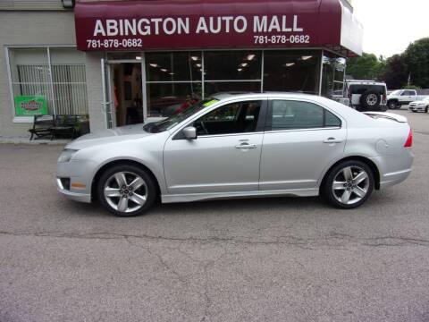 2010 Ford Fusion for sale at Abington Auto Mall LLC in Abington MA