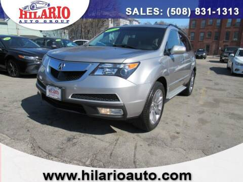 2013 Acura MDX for sale at Hilario's Auto Sales in Worcester MA
