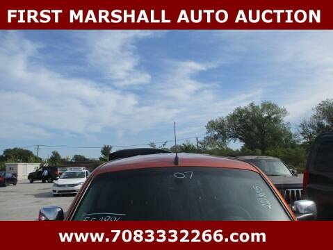 2007 Chevrolet HHR for sale at First Marshall Auto Auction in Harvey IL