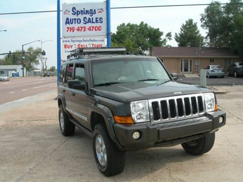 2006 Jeep Commander for sale at Springs Auto Sales in Colorado Springs CO