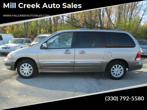 2001 Ford Windstar for sale at Mill Creek Auto Sales in Youngstown OH