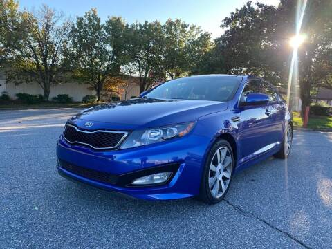 2013 Kia Optima for sale at Triple A's Motors in Greensboro NC