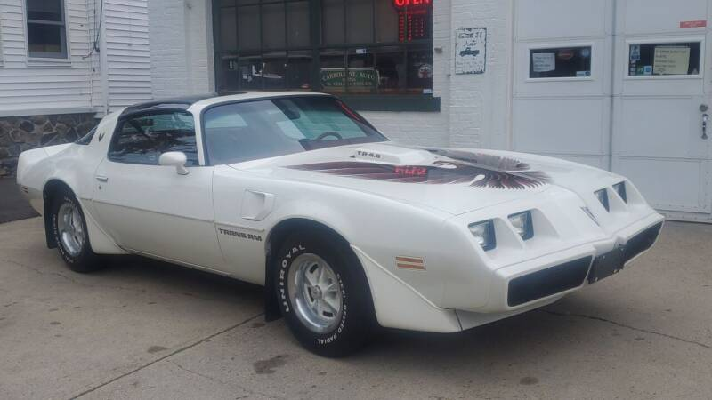 1980 Pontiac Trans Am for sale at Carroll Street Auto in Manchester NH