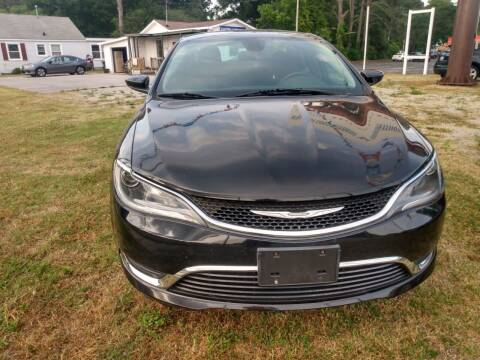 2016 Chrysler 200 for sale at DRIVEhereNOW.com in Greenville NC