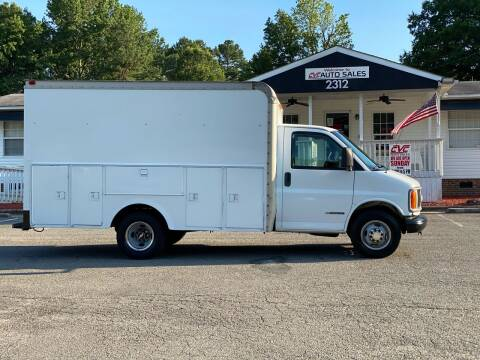 2001 Chevrolet Express Cutaway for sale at CVC AUTO SALES in Durham NC