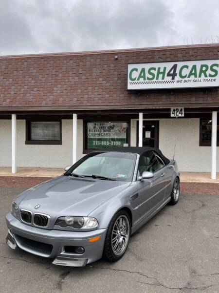 2005 BMW M3 for sale at Cash 4 Cars in Penndel PA