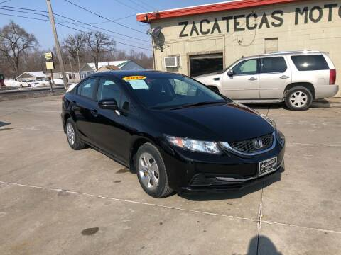 2015 Honda Civic for sale at Zacatecas Motors Corp in Des Moines IA