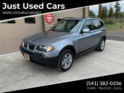 2004 BMW X3 for sale at Just Used Cars in Bend OR
