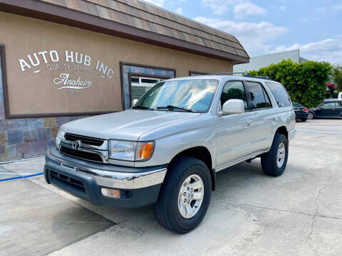 2001 Toyota 4Runner for sale at Auto Hub, Inc. in Anaheim CA