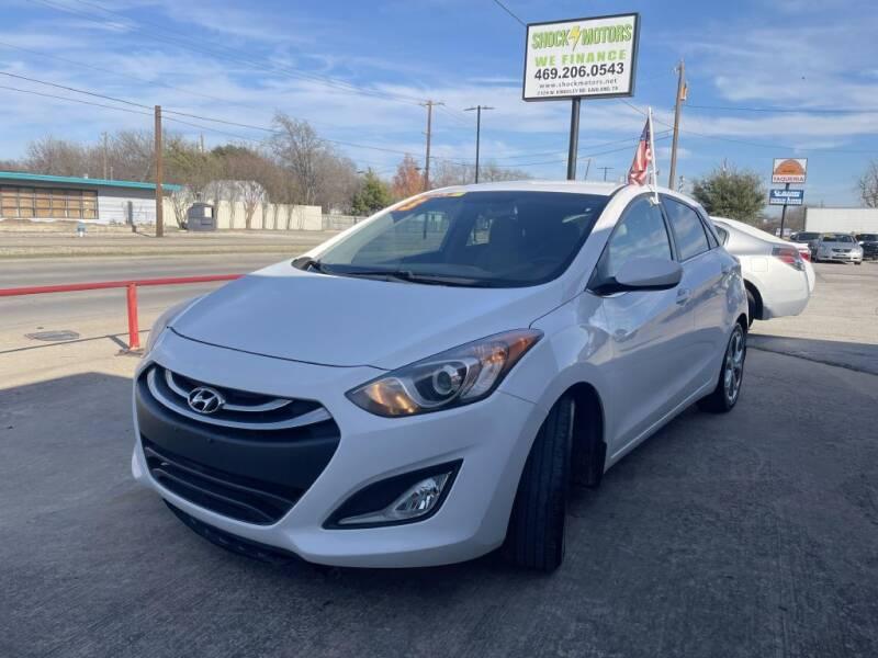 2013 Hyundai Elantra GT for sale at Shock Motors in Garland TX