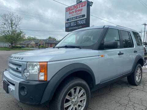 2007 Land Rover LR3 for sale at Unlimited Auto Group in West Chester OH