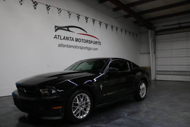 2012 Ford Mustang for sale at Atlanta Motorsports in Roswell GA
